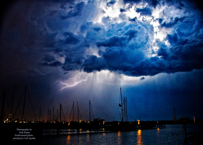 Hot Cloud lightning