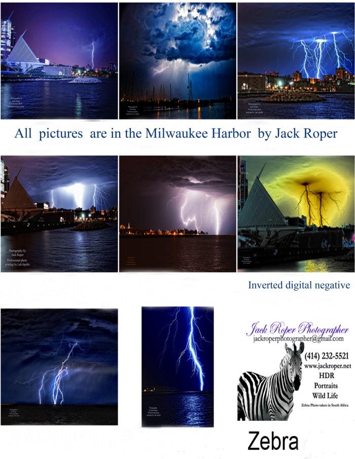 Lightning contact sheet  Roper