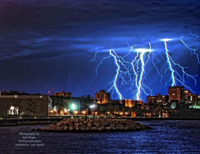 Lightning over UWM 3